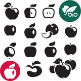 Icône d'Apple illustration stock