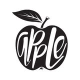 Icône d'Apple Vecteur Photo libre de droits