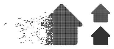 Icône d'image tramée de pixel cassée par carlingue illustration libre de droits