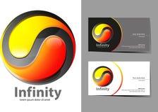 Icône d'infini Image libre de droits
