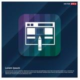 Icône d'interface d'application illustration de vecteur