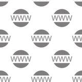 Icône d'Usb Élément des icônes minimalistic pour les apps mobiles de concept et de Web L'icône sans couture d'usb de répétition d illustration libre de droits