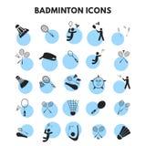 icône de badminton Illustration Stock