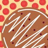 Icône de biscuit de Noël illustration de vecteur