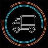 Icône de camion de livraison - symbole de expédition illustration de vecteur