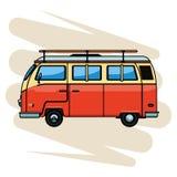 Icône de camping-car illustration stock
