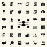 icône de canaux de distribution Ensemble universel d'icônes de vente de Digital pour le Web et le mobile illustration de vecteur