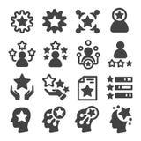Icône de compétence illustration de vecteur
