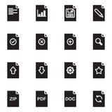 Icône de conception graphique Photographie stock