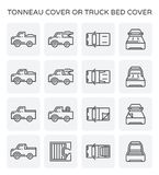 Icône de couverture de Tonneau illustration stock