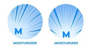 Icône de crème hydratante Image libre de droits