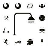 Icône de douche Ensemble détaillé d'icônes de sport Signe de la meilleure qualité de conception graphique de qualité Une des icôn Illustration Libre de Droits