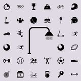 Icône de douche Folâtrez l'ensemble universel d'icônes pour le Web et le mobile illustration stock