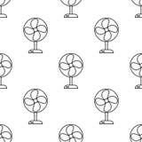 Icône de fan Élément d'icône d'appareils pour les apps mobiles de concept et de Web Icône sans couture de fan de répétition de mo Illustration Libre de Droits