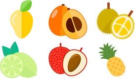 Icône de fruit de ressort Image libre de droits