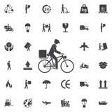 Icône de la livraison illustration libre de droits