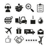 Icône de logistique Illustration simple de vecteur Image stock
