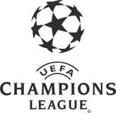 Icône de logo de Ligue des Champions illustration stock