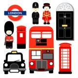 ICÔNE DE LONDRES Image libre de droits