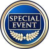 Icône de luxe de label d'or d'événement spécial illustration libre de droits