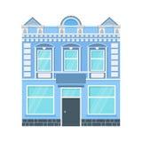 Icône de maison de ville illustration libre de droits