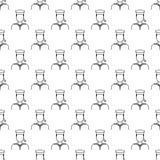 icône de marin dans le style de modèle Un de l'icône de collection de Proffecions peut être employé pour UI, UX illustration stock