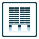 Icône de palette de construction illustration de vecteur