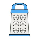 Icône de râpe de cuisine illustration libre de droits