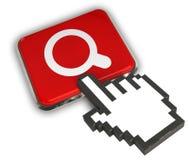 Icône de recherche Images libres de droits