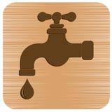 Icône de robinet d'eau illustration stock