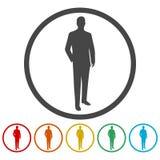 Icône de signe de clients illustration de vecteur