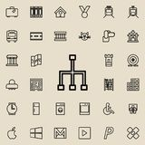 icône de signe de communication Ensemble détaillé de ligne minimalistic icônes Conception graphique de la meilleure qualité Une d Photo libre de droits