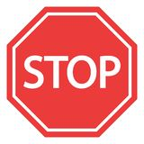 Icône de signes d'arrêt illustration de vecteur
