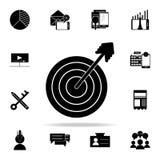 Icône de stratégie marketing Ensemble universel d'icônes de vente de Digital pour le Web et le mobile illustration libre de droits