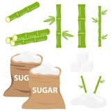 Icône de sucre illustration stock