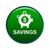 Icône de tirelire de l'épargne d'argent illustration de vecteur