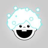 Icône de vecteur de bain de bébé illustration de vecteur