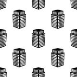 icône du bâtiment 3d Élément d'icône du bâtiment 3d pour les apps mobiles de concept et de Web Icône sans couture du bâtiment 3d  illustration de vecteur