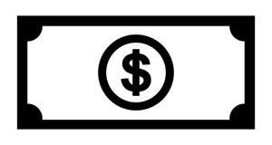 Icône du dollar d'argent illustration de vecteur