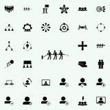 icône extinctrice commune Ensemble universel d'icônes de travail d'équipe pour le Web et le mobile illustration de vecteur