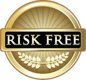Icône gratuite d'emblème d'or de risque illustration de vecteur