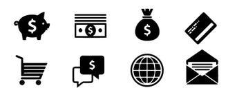 Icônes d'affaires, gestion et ressources humaines set1 Vecteur ENV 10 Plus d'icônes dans mon portfolio image libre de droits