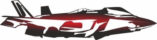 Icônes d'avion de combattant, logo pour le concept mobile et apps de Web illustration de vecteur