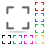 icônes de foyer Éléments des icônes colorées par Web humain Icône de la meilleure qualité de conception graphique de qualité Icôn illustration stock