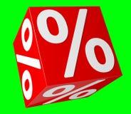 Icônes de ventes flottant dans le rendu de l'air 3D Image stock