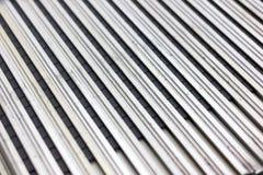 IC in aluminium slot royalty free stock photography