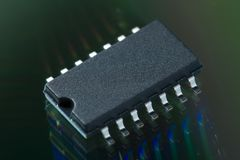 IC CHIP Stock Photos