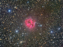 IC5146 Cocoon Nebula. Astrology astronomy cluster comet constellation cosmos royalty free stock image