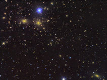 IC3949 Deep field of galaxies Stock Photo