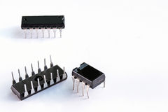 IC ,integrated circuit Royalty Free Stock Photos